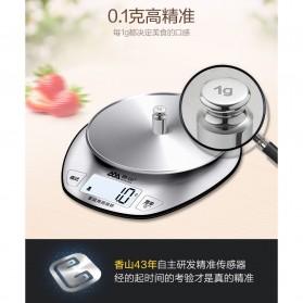SENSSUN Timbangan Dapur Digital 5kg 1g - EK518 - Silver - 3