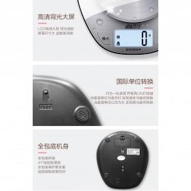 SENSSUN Timbangan Dapur Digital 5kg 1g - EK518 - Silver - 5