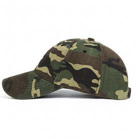 Topi Trucker Baseball Camouflage Army Summer Hat - S8R - Gray - 2