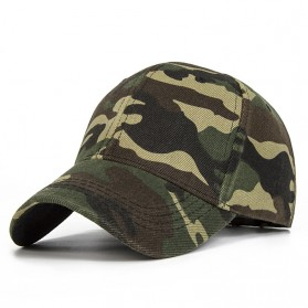 Topi Trucker Baseball Camouflage Army Summer Hat - s8r0102062 - Green