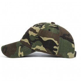 Topi Trucker Baseball Camouflage Army Summer Hat - S8R - Green - 2