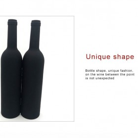 Sweettreats Perlengkapan Set Pembuka Tutup Botol Wine Bar Tools Corkscrew - Black - 2