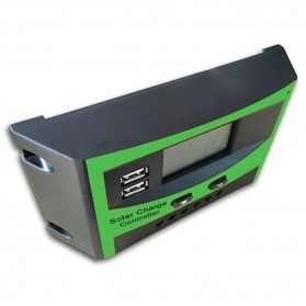 Solar Charger Controller Regulator Dual USB 12/24V for Solar Panel - DJ242001-2 - Green - 3
