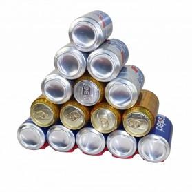 DouRyoku Rak Holder Kaleng Minuman Foldable Beer Can Storage Rack - LYW048 - Red - 2