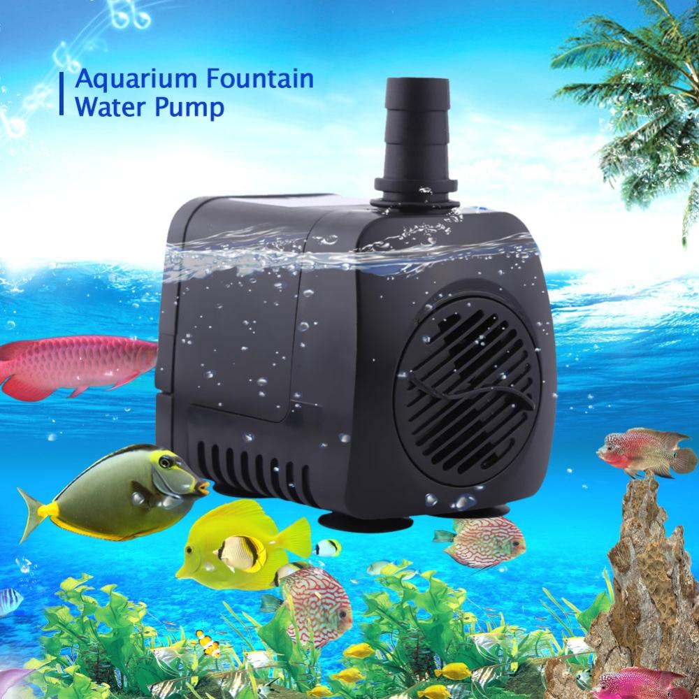 TOPINCN Pompa Air Aquarium Ikan Submersible Pump Fish Tank ...