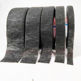 Tase AG Lakban Kabel Listrik Adhesive Cloth Wiring Tape 19mm - BI2980 - Black - 2