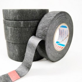 Tase AG Lakban Kabel Listrik Adhesive Cloth Wiring Tape 19mm - BI2980 - Black - 5