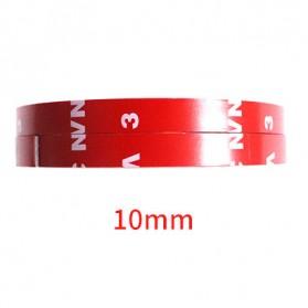 JETTING Lakban Selotip Double Tape 3M 3m x 10mm 1Pcs - SC-3M - Red - 10