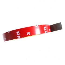 JETTING Lakban Selotip Double Tape 3M 3m x 10mm 1Pcs - SC-3M - Red - 5