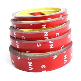 JETTING Lakban Selotip Double Tape 3M 3m x 10mm 1Pcs - SC-3M - Red - 7
