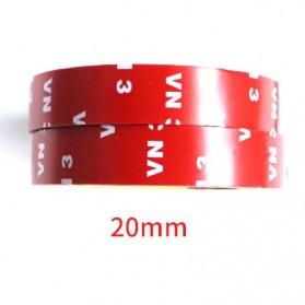 JETTING Lakban Selotip Double Tape 3M 3m x 10mm 1Pcs - SC-3M - Red - 8
