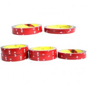 JETTING Lakban Selotip Double Tape 3M 3m x 12mm 1Pcs - SC-3M - Red - 2