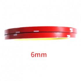 JETTING Lakban Selotip Double Tape 3M 3m x 12mm 1Pcs - SC-3M - Red - 9