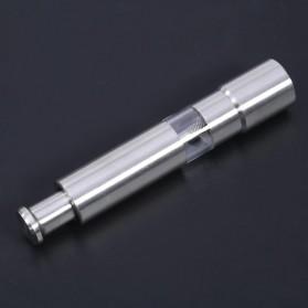VKTECH Penggiling Biji Lada Merica Pepper Mill Manual Hand Grinder 135ml - MG600 - Silver - 6