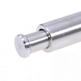 VKTECH Penggiling Biji Lada Merica Pepper Mill Manual Hand Grinder 135ml - MG600 - Silver - 9