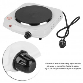 Haofy Kompor Listrik Mini Hot Plate Electric Cooking 1500W - DLD-103 - White - 10