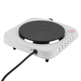 Haofy Kompor Listrik Mini Hot Plate Electric Cooking 1500W - DLD-103 - White - 3