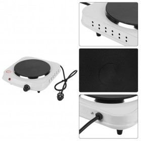 Haofy Kompor Listrik Mini Hot Plate Electric Cooking 1500W - DLD-103 - White - 9