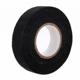 Mayitr AG Lakban Kabel Listrik Adhesive Cloth Wiring Tape 19mm - BI02980 - Black - 4