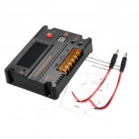 Meterk Solar Charger Controller Regulator 12V/24V 20A for Solar Panel - MPT20 - Black - 3