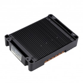 Meterk Solar Charger Controller Regulator 12V/24V 20A for Solar Panel - CMG2420 - Black - 6