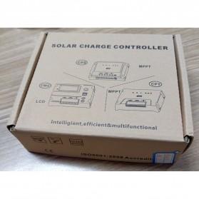 Meterk Solar Charger Controller Regulator 12V/24V 20A for Solar Panel - CMG2420 - Black - 11