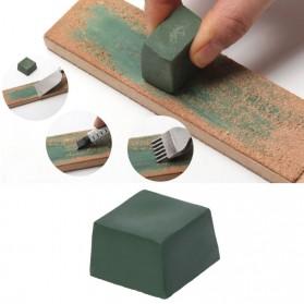 Pisau Dapur Set & Pengasah Pisau - Alumina Pengasah Pisau Abresive Polishing Paste Buffing Compound Metal Knife Grinding - DLS101 - Green