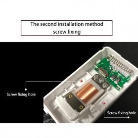 CACAZI FA10 Bel Pintu Wireless Remote Doorbell LED 36 Tunes 1 PCS Receiver - FA60 - Black - 10