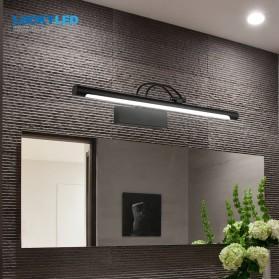 Luckyled Lampu LED Cermin Kamar Mandi Mirror Bathroom Light 12W Warm White - LCMLA-40-55 - Black - 1