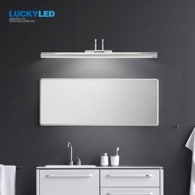 Luckyled Lampu LED Cermin Kamar Mandi Mirror Bathroom Light 12W Warm White - LCMLA-40-55 - Black - 2
