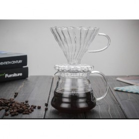 SELUNA Filter Penyaring Kopi V60 Glass Cone Coffee Dripper Filter Type 1 - SE101 - 3
