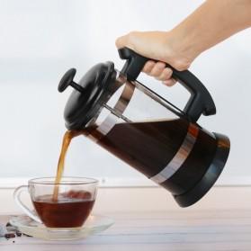 i Cafilas French Press Coffee Maker Pot 1 Liter - T35068 - Black - 3