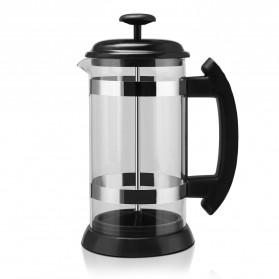 i Cafilas French Press Coffee Maker Pot 1 Liter - T35068 - Black - 5