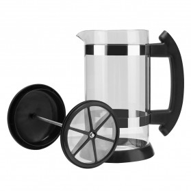 i Cafilas French Press Coffee Maker Pot 1 Liter - T35068 - Black - 6