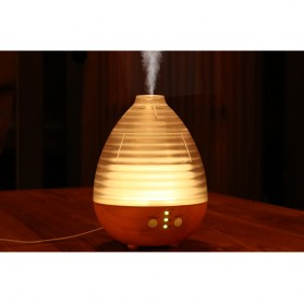 Alloet Air Humidifier Aromatherapy Oil Diffuser Egg Shape RGB Light 235ml - AJ-506 - Brown - 10