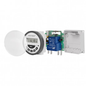 Sinotimer Programmable Timer Switch Relay Countdown Time 10A 220V AC - TM-619H-2 - White - 7