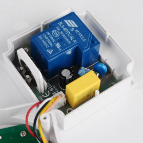 Sinotimer Programmable Timer Switch Relay Countdown Time 10A 220V AC - TM-619H-2 - White - 9
