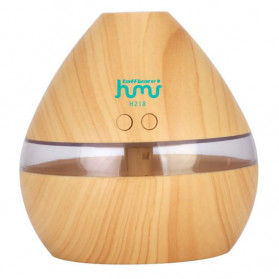 Taffware Air Humidifier Aromatherapy Oil Diffuser Wood Design 300ml - Humi H218 - Wooden