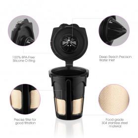 Belr K-Cup 2.0 Reusable Capsule Filter 3 PCS for Keurig Coffee Machine - HL24 - Black - 5