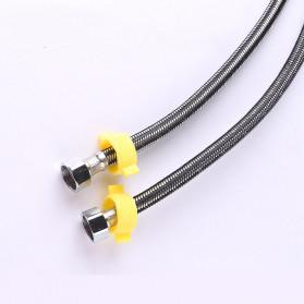 JRJUBB Selang Shower Fleksibel Braided Hose Stainless Steel 40CM - JR013387 - Silver - 2