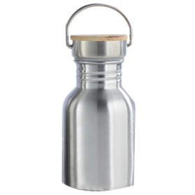Mtuove Botol Minum Insulated Thermos Stainless Steel 300ml - YM006 - Silver