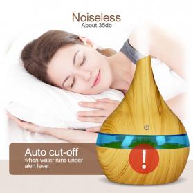 Taffware Air Humidifier Ultrasonic Aromatherapy Oil Diffuser Wood Grain 300ml - Humi K-H98 - Brown - 3