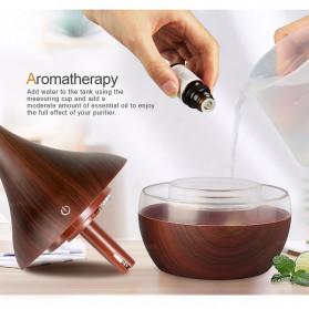 Taffware Air Humidifier Ultrasonic Aromatherapy Oil Diffuser Wood Grain 300ml - Humi K-H98 - Brown - 8