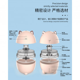 LOVELY Dudu Cat Ultrasonic Air Humidifier Aromatherapy Night Light 200ml - DDM-1 - Pink - 8