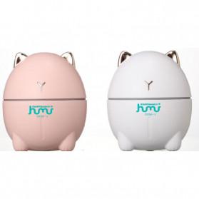 Taffware Dudu Cat Ultrasonic Air Humidifier Aromatherapy Night Light 200ml - HUMI DDM-1 - Pink - 11