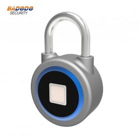 OKLOK Gembok Koper Rumah Smart Fingerprint Padlock iOS Android APP Control - PB50 - Blue - 4