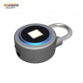 OKLOK Gembok Koper Rumah Smart Fingerprint Padlock iOS Android APP Control - PB50 - Blue - 5