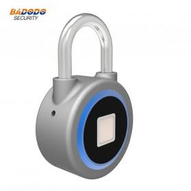 OKLOK Gembok Koper Rumah Smart Fingerprint Padlock iOS Android APP Control - PB50 - Blue - 6