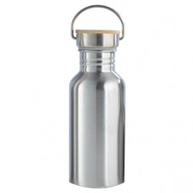 Mtuove Botol Minum Insulated Thermos Stainless Steel 500ml - YM006 - Silver - 1