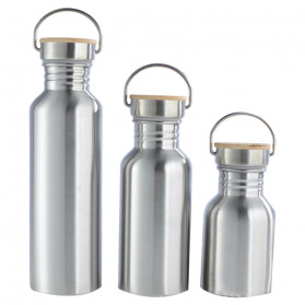 Mtuove Botol Minum Insulated Thermos Stainless Steel 500ml - YM006 - Silver - 2